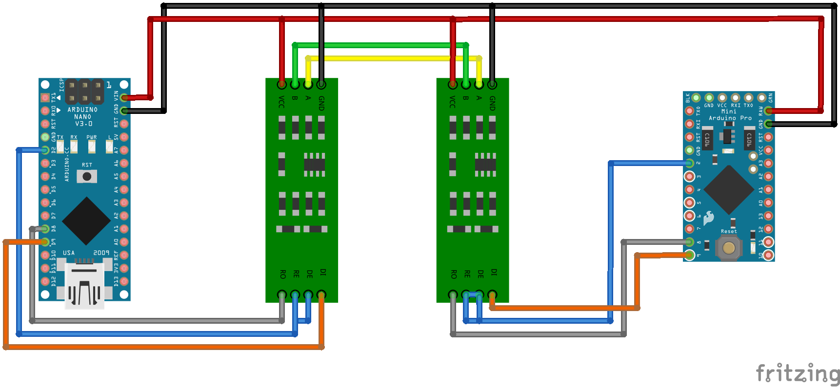 2 Wire Rs485 Wiring Diagram Guide And Troubleshooting Of Usb To S Video Rs232 Odicis Two 4 Connection