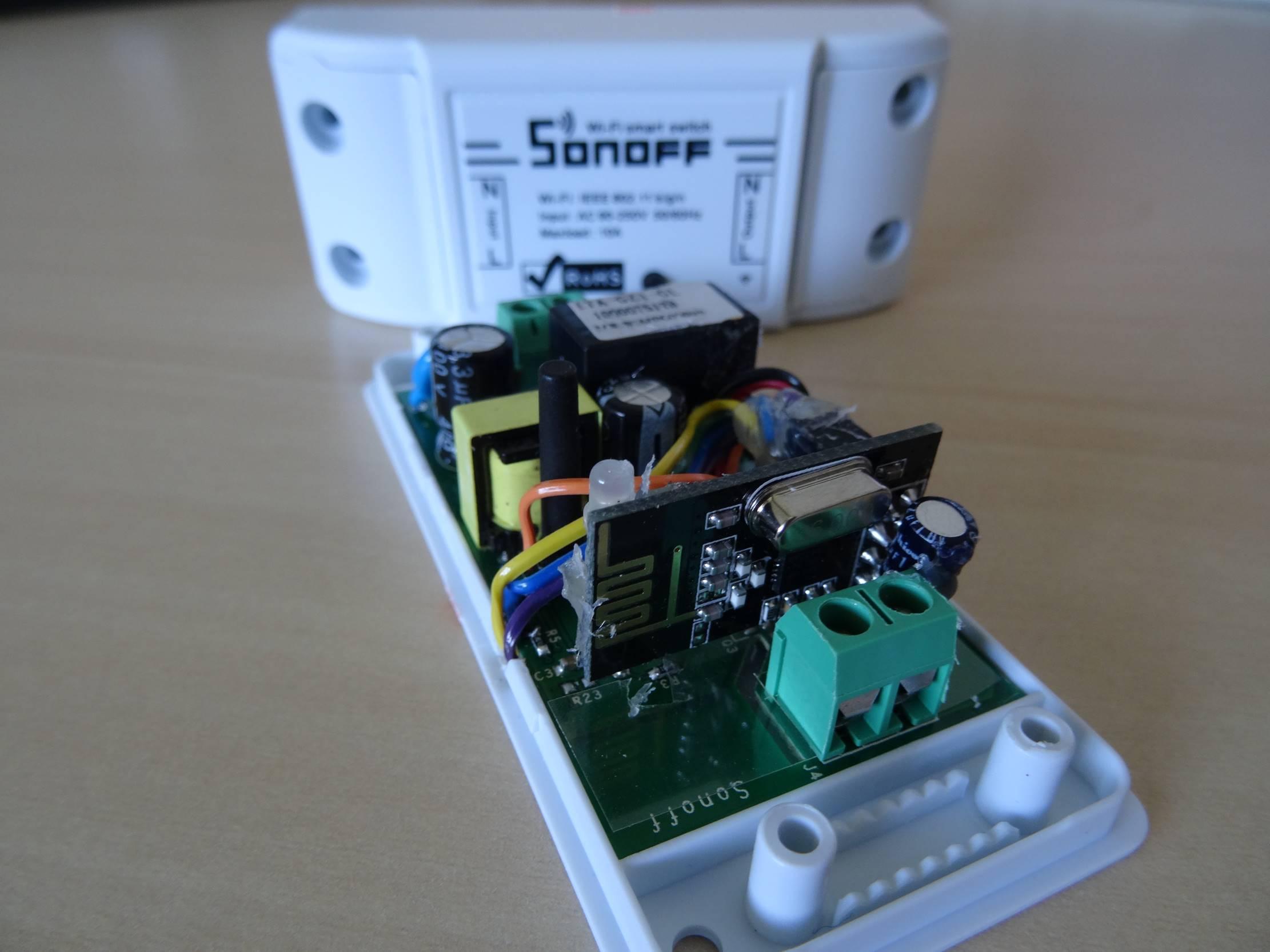 Sonoff Basic Wifi Gateway for NRF24 | MySensors Forum