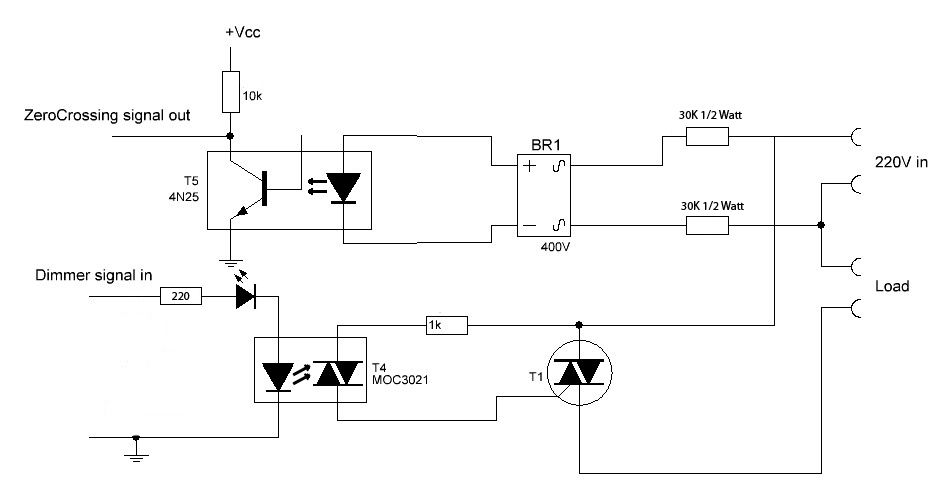 AC light dimmer with 2x TRIAC   MySensors Forum on switch schematic, diode schematic, smps schematic, relay schematic, mosfet schematic, capacitor schematic, transistor schematic, integrated circuit schematic, sensor schematic, vfd schematic, lcd schematic, inductor schematic, cpu schematic, power supply schematic, rectifier schematic, battery schematic, led schematic, plc schematic,