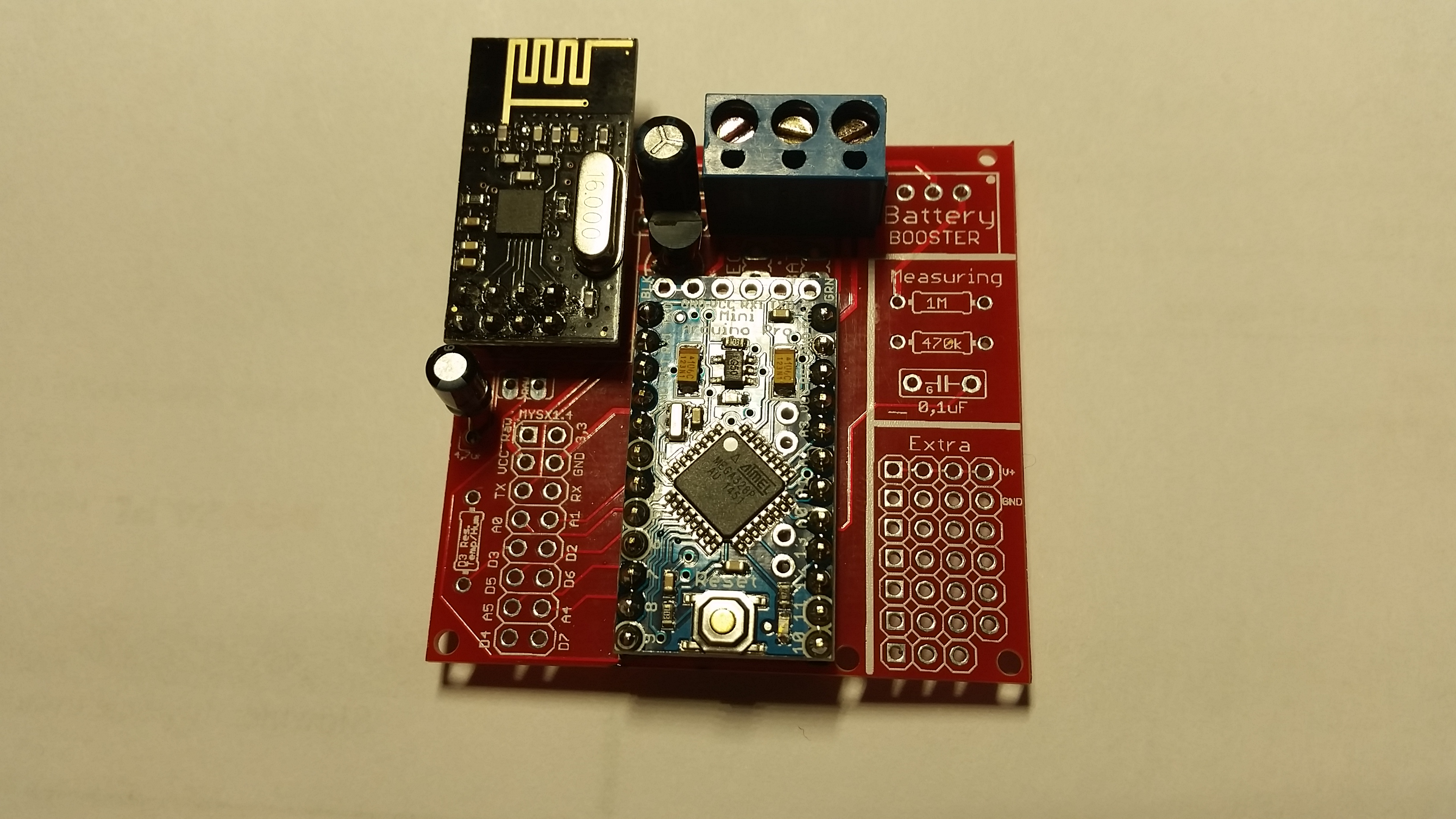 Easy Newbie Pcb For Mysensors Forum Current Divider Circuits Electronics Forums