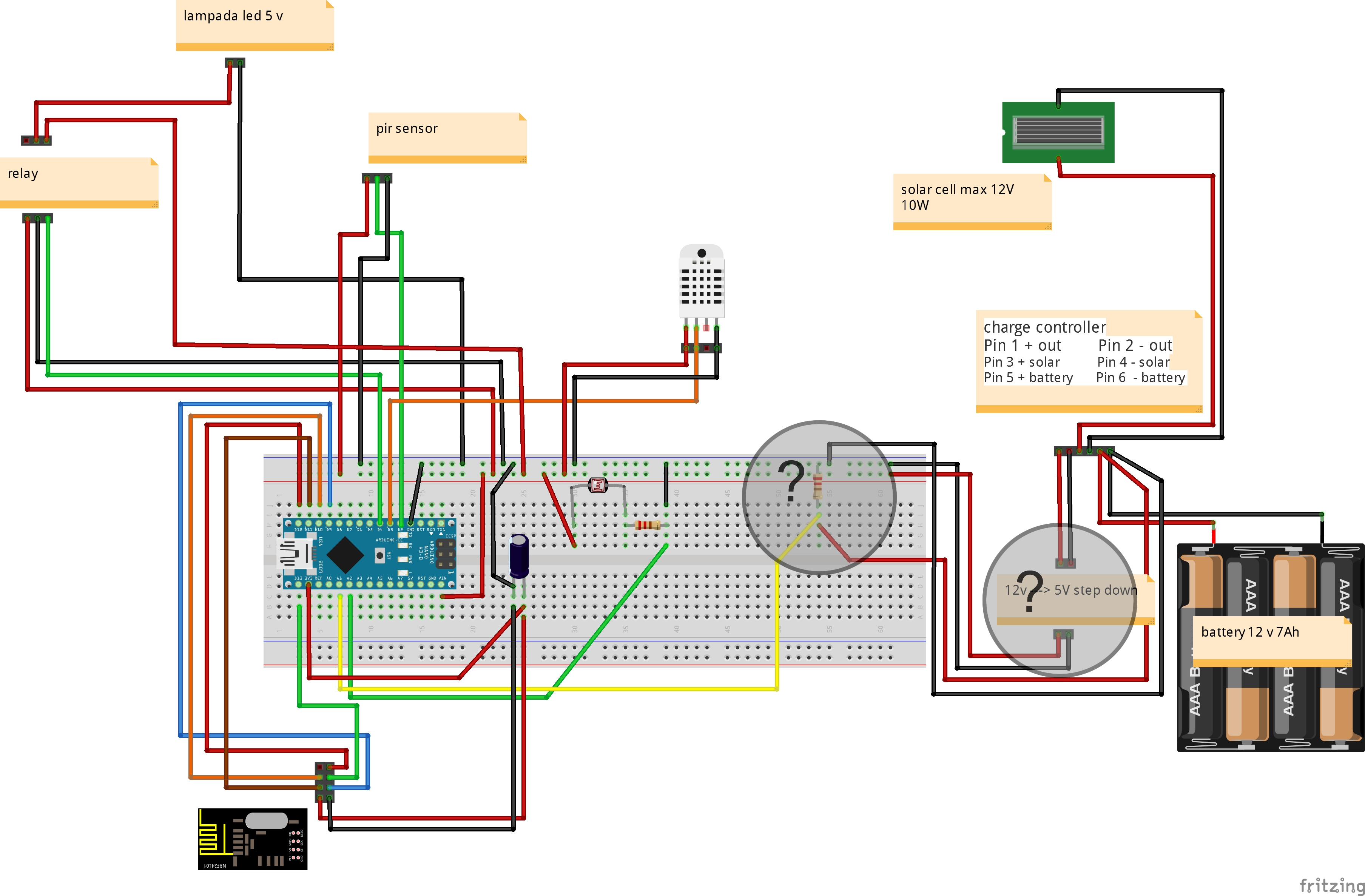 Solar Powered Mini Weather Station Mysensors Forum 3a Charge Control Circuit Schematic