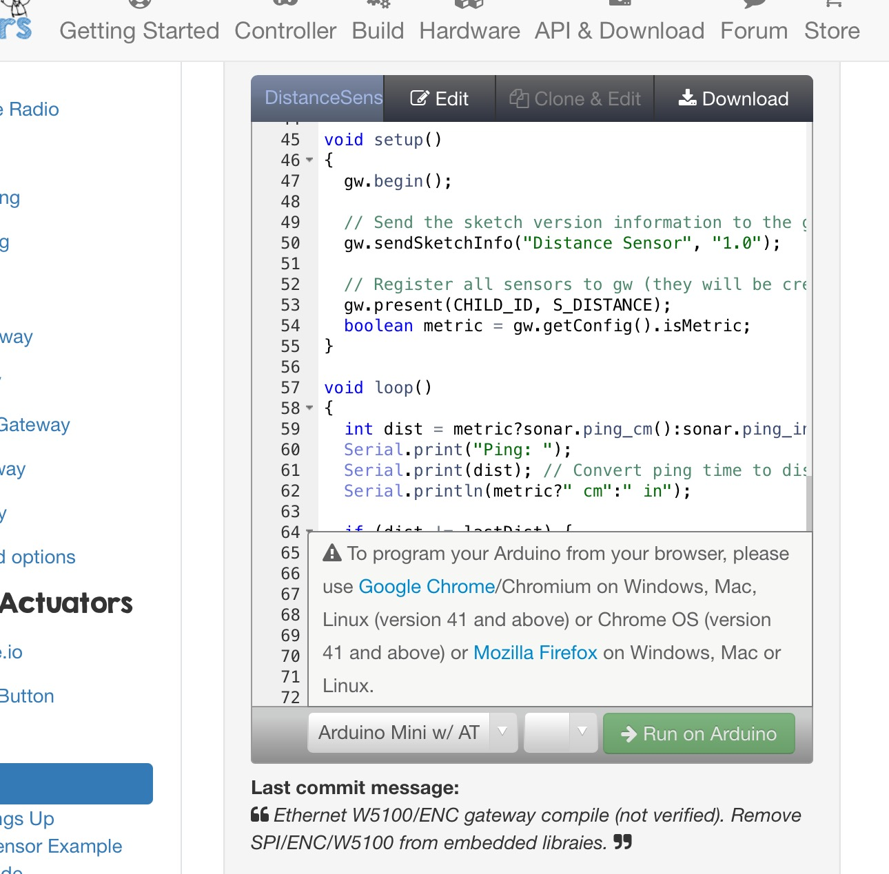 Codebender on ipad hiding code | MySensors Forum