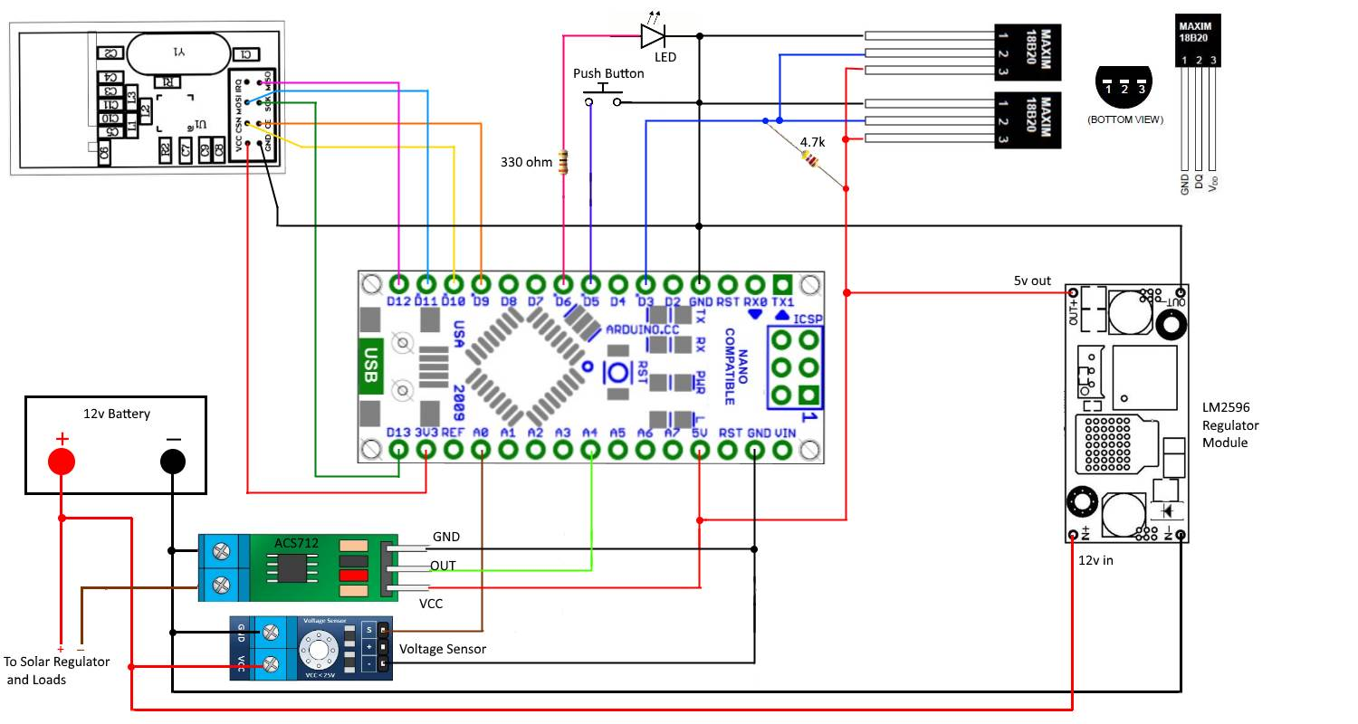 12v Solar battery monitor | MySensors Forum