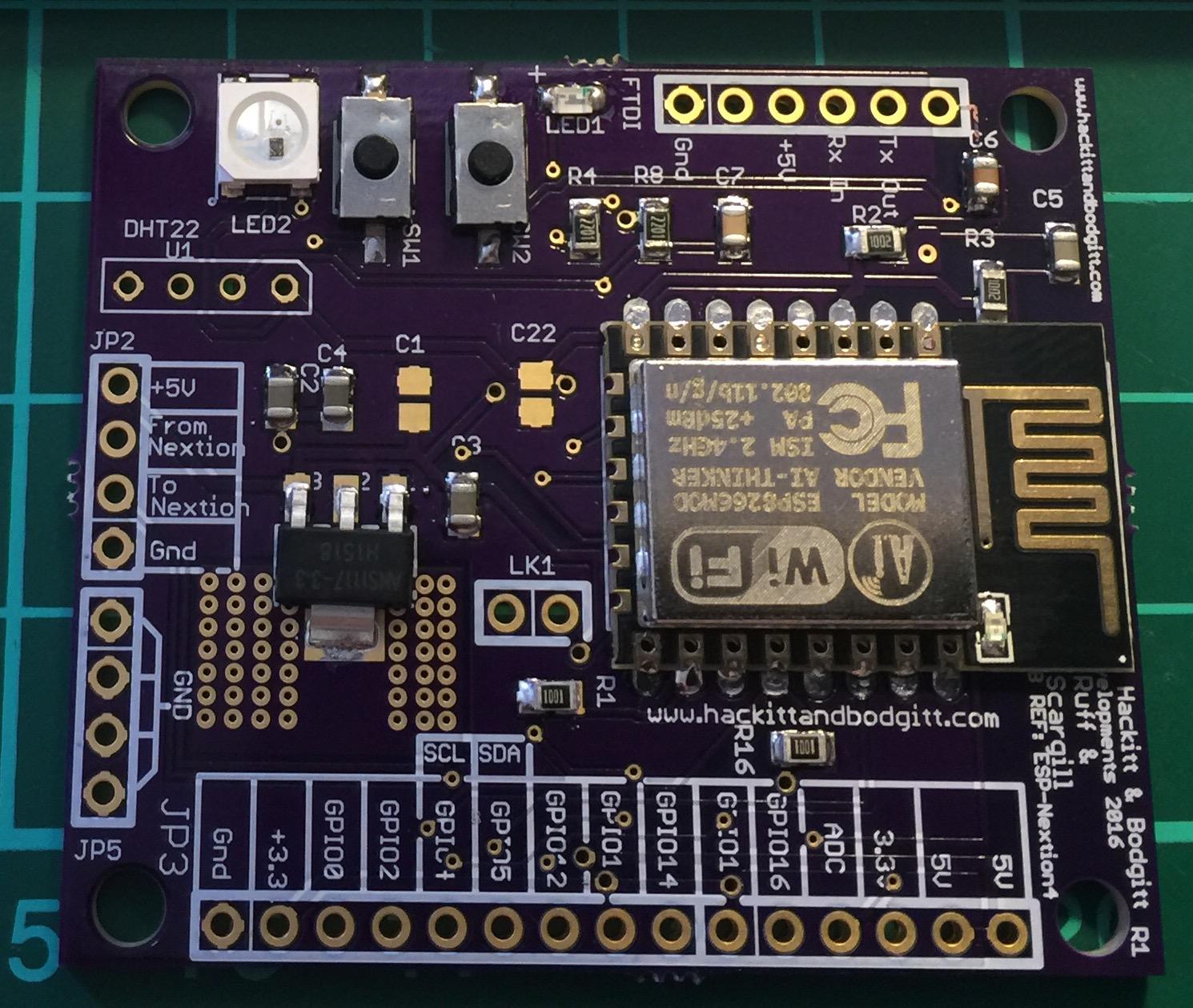 An Esp8266 Nextion Scene controller?? | MySensors Forum