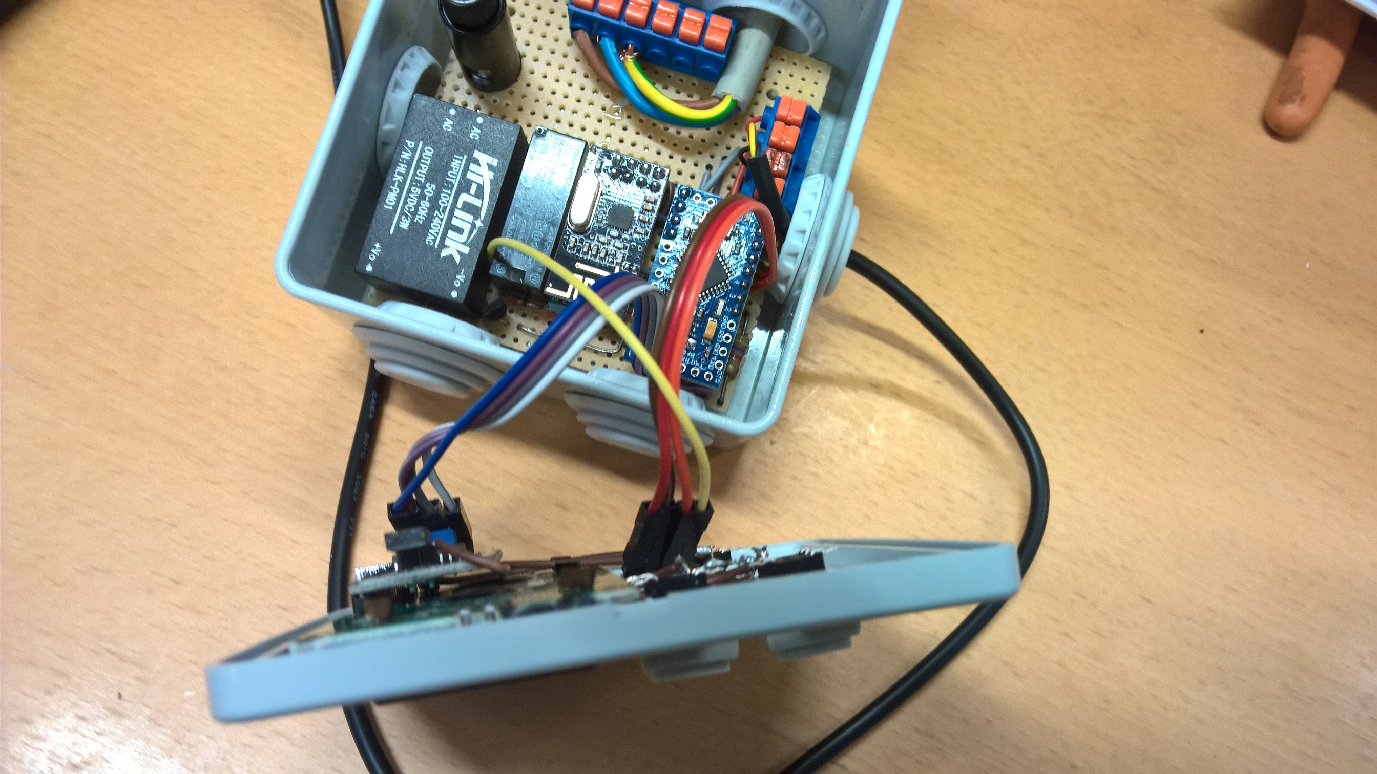 Monitoring a wood boiler heating system | MySensors Forum