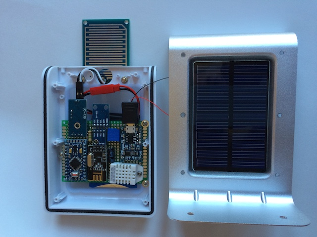 Solar powered mini weather station mysensors forum